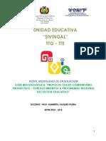 Guía Perfil Proyecto Socioproductivo