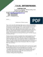 Specification of Foam Concrete