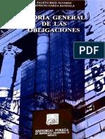 Teoria Gral de Las Obligaciones, Rico Alvárez Fausto
