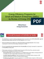 Energy Efficiency Program of BEE