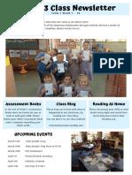 classroom newsletter week 7