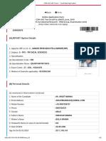 CSIR-UGC NET Exam __ Candidate Application