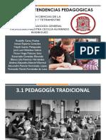 3.1 y 3.2 Tendencias Pedagogicas