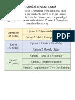 polynomials choieboard