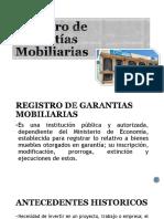 Registro de Garantías Mobiliarias