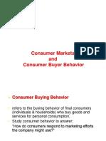 MM 4 Consumer Buyer Behavior