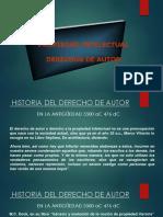 Sesión 1 Historia Derechos de Autor