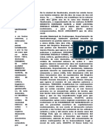 ejemplos de actas notarialess GUATEMALA