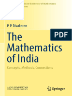 P. P. Divakaran - The Mathematics of India_ Concepts, Methods, Connections-Springer (2018).pdf