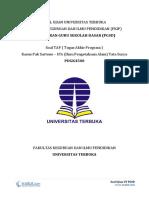 1 - Soal TAP UT PGSD - Tugas Akhir Program - Pak Sartono – IPA (Ilmu Pengetahuan Alam) Tata Surya