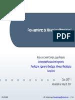 Procesamiento de Minerales y  Materiales I.pdf