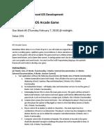 Assignment 2 - IOS Arcade Game-1