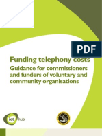 Telephony Guidance for Funders