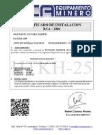 HTKH-25 Certificado Tercer Ojo