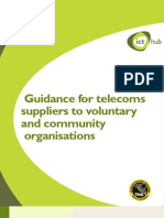 Telephony Guidance for Suppliers