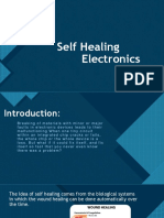 Self Healing Electronics