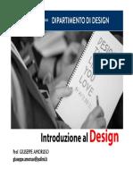 introduzione al design