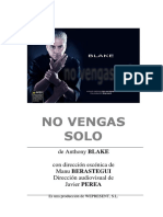 Dossier No Vengas Solo - Anthony Blake