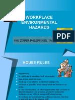 Workplace Environmental Hazards