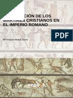 Mateo Donet Ma Amparo - La Ejecucion De Los Martires Cristianos En El Imperio Romano.pdf