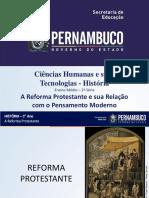 A Reforma Protestante e sua relação com o pensamento moderno