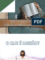 Breve Analise Teologia Biblica de Missao