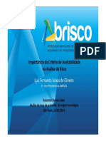 Luiz Fernando Seixas de Oliveira ANÁLISE de RISCO