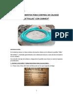 PROCEDIMIENTOS PARA CONTROL DE CALIDAD CARMEX.docx