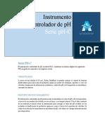 Catalogo Instrumento Controlador PH-C