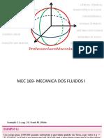 Aula 003-Mecânica Dos Fluidos- Conceitos Fundamentais