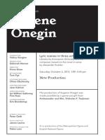 Oct 5 Onegin