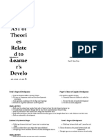 Comparison of Theories on Learning