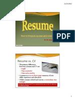 How to Prepare Resume.pdf