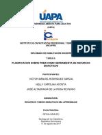Tarea No. 2, Planificacion sobre Prezi 1.docx