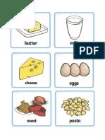 Food Flash Card