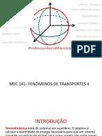 Aula 01-Fenômenos de Transportes II-Introdução