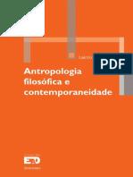 Antropologia Filosofica e Conte - Laercio Antonio Pilz
