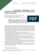 Ensuring the Amphibious Capabilities of the Amphib