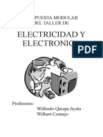 Fundamenhtacion Del Taller Electronica Nº 02 Electronica