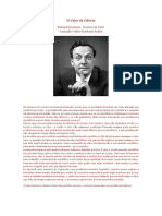 Feyniman_O Valor Da Ciência