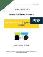 UD Argumentación Oral
