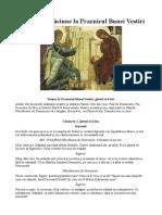Canon de rugăciune la Praznicul Bunei Vestiri