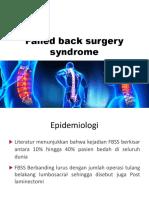 Failed Back Surgery Syndrome (1)