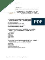 Intervalo Interativo - Endodontia