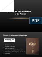 A crónica de costumes n Os Maias.odp