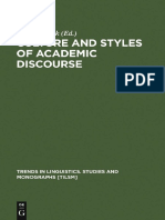 (Trends in Linguistics. Studies and Monographs, Vol. 104) Anna Duszak - Culture and Styles of Academic Discourse-De Gruyter Mouton (1997).pdf