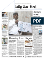 The Daily Tar Heel for October 28, 2010
