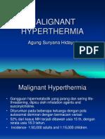 Malignant Hyperthermia