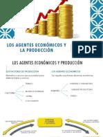Los Agentes Económicos y La Producción