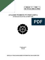 Analisis Website